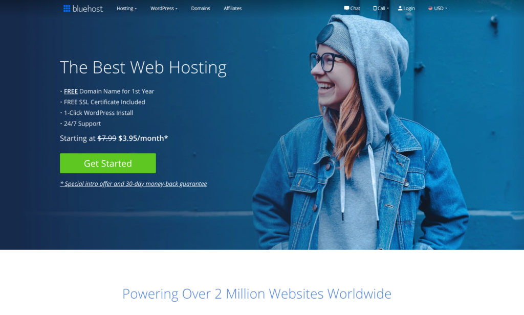 How to set up your WordPress blog on Bluehost.